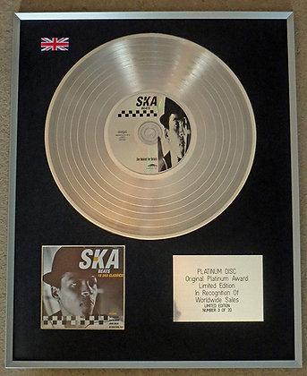 SKA BEATS - Limited Edition CD Platinum LP Disc - 18 SKA CLASSICS