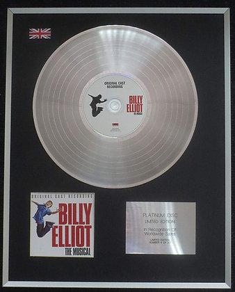 Billy Elliot - Limited Edition CD Platinum LP Disc - The Original Cast
