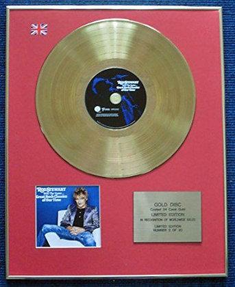 Rod Stewart - LTD Edition CD 24 Carat Gold Coated LP Disc - Still the Same...