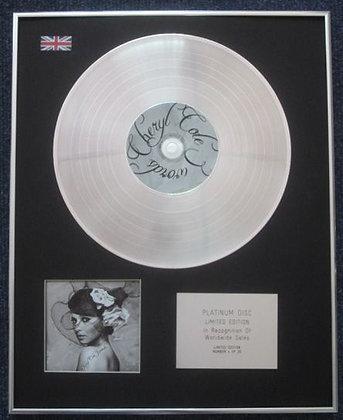CHERYL COLE - Limited Edition CD Platinum LP Disc - 3 WORDS