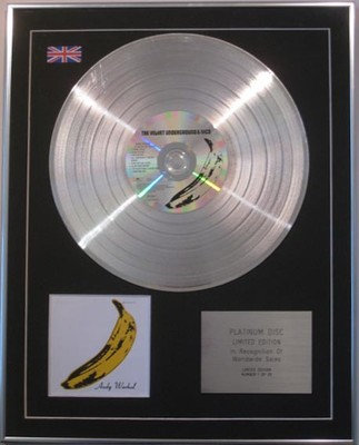 The Velvet Underground & Nico  - Limited Edition Cd  Platinum Disc