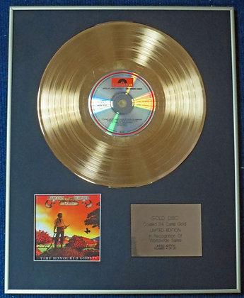 BARCLAY JAMES HARVEST - CD 24 Carat Gold Coated LP Disc - TIME HONOURED…