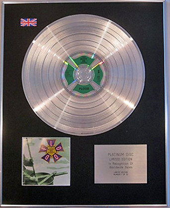 THEY MIGHT BE GIANTS - Limited Edition CD Platinum Disc - FLOOD