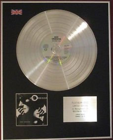 ROY ORBISON - CD Platinum Disc - MYSTERY GIRL