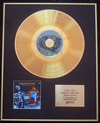 Dream Theater - Exclusive Limited Edition 24 Carat Gold Disc - Awake…