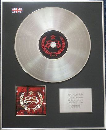 STONE SOUR - Limited Edition CD Platinum Disc - HYDROGRAD