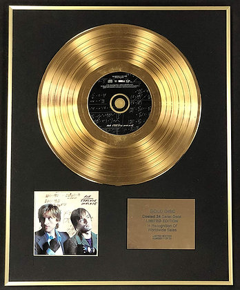 Air - Exclusive Limited Edition 24 Carat Gold Disc - Talkie Walkie