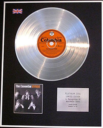 BYRDS - CD Platinum Disc - THE ESSENTIAL