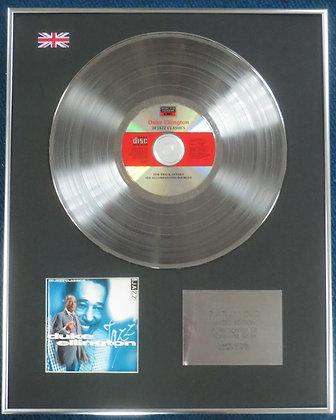 DUKE ELLINGTON - Limited Edition CD Platinum LP Disc - 20 JAZZ CLASSICS