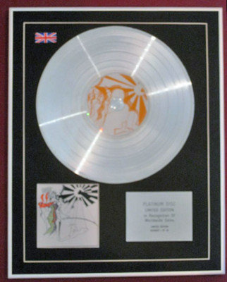 PRETTY THINGS  Ltd Edition CD Platinum Disc- S.F.SORROW