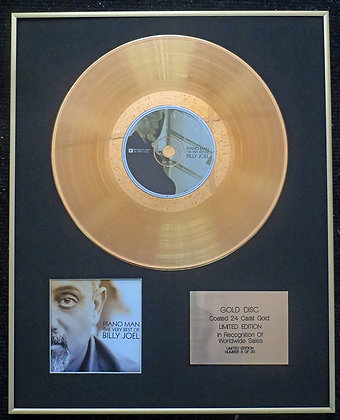 Billy Joel - Exclusive Limited Edition 24 Carat Gold Disc - The Very Best