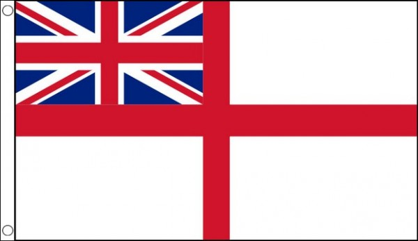 satinette RED ENSIGN  Quality Table Flag