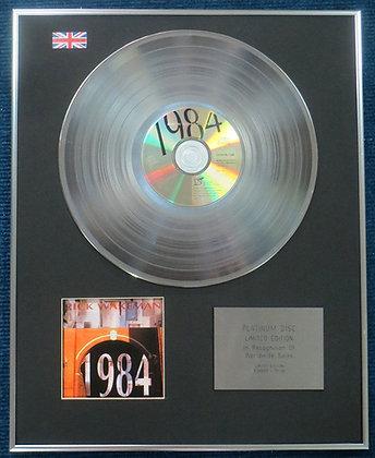 Rick Wakeman - Limited Edition CD Platinum LP Disc - 1984