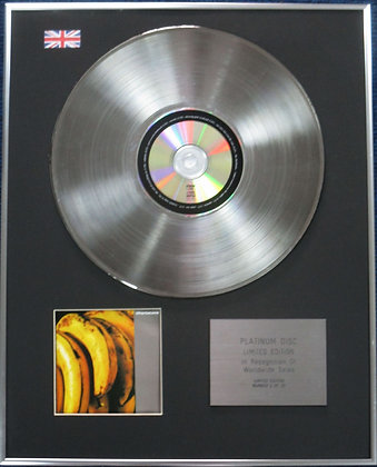 CHARLATANS - CD Platinum Disc - BETWEEN THE 10TH AND THE 11TH