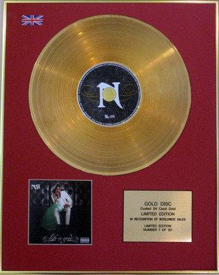 NAS - Ltd Edition CD 24 Carat Gold Disc  - LIFE IS GOOD