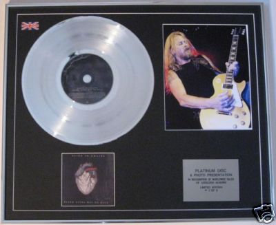 ALICE IN CHAINS  CD Platinum Disc+Photo-BLACK GIVES WAY