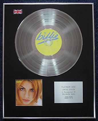 Billie Piper - Limited Edition CD Platinum LP Disc - Billie