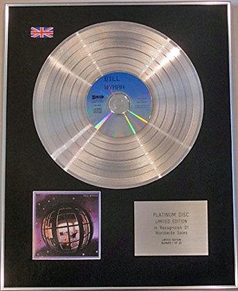 BILL WYMAN -(of ROLLING STONES) - Litd Edtn CD Platinum Disc