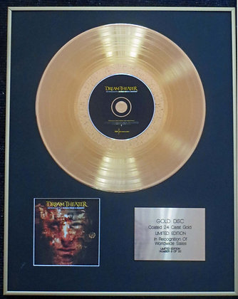 Dream Theater - Exclusive Edition 24 Carat Gold Disc - Metropolis Pt. 2