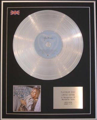 BARBRA STREISAND -CD Platinum Disc- LOVE IS THE ANSWER