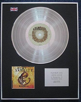 Jet Set Satellite - Limited Edition CD Platinum LP Disc - Blueprint