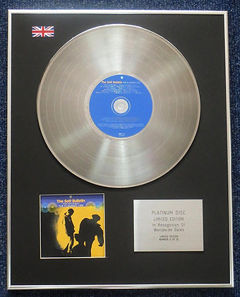 Flaming Lips - Limited Edition CD Platinum LP Disc - The Soft Bulletin