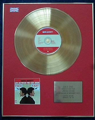 Keith Jarrett - CD 24 Carat Gold Coated LP Disc - Life Between the Exit Signs