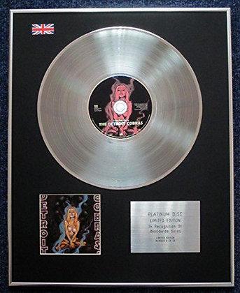 The Detroit Cobras - Limited Edition CD Platinum LP Disc - Seven Easy Pieces