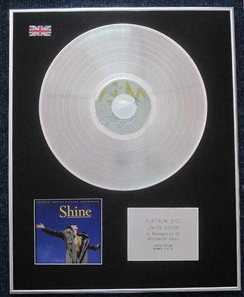 SHINE - Limited Edition CD Platinum LP Disc - ORIGINAL SOUNDTRACK