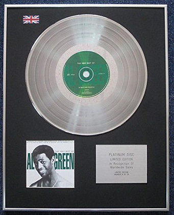 Al Green - Limited Edition CD Platinum LP Disc - The Very Best of