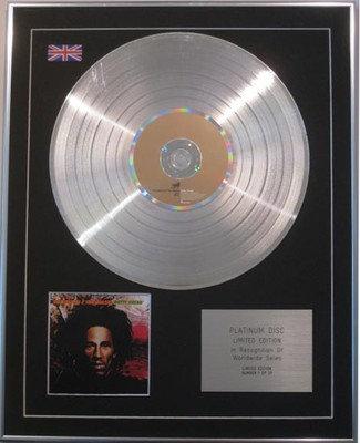 Bob Marley  - Limited Edition Cd  Platinum Disc  - 'Natty Dread'