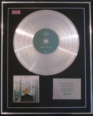 MOBY - CD Platinum Disc- HOTEL
