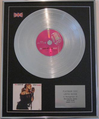 BLUE CANTRELL - CD Platinum Disc- BITTERSWEET