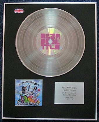 Eliza Doolittle - Limited Edition CD Platinum LP Disc - 'Eliza Doolittle'