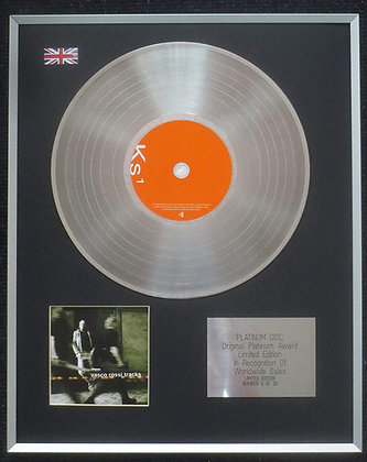 Rossi Vasco - Limited Edition CD Platinum LP Disc - Tracks