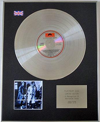 STYLE COUNCIL - Limited Edition CD Platinum disc - CAFE BLEU