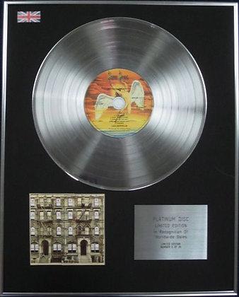 LED ZEPPELIN - CD Platinum Disc - PHYSICAL GRAFFITI