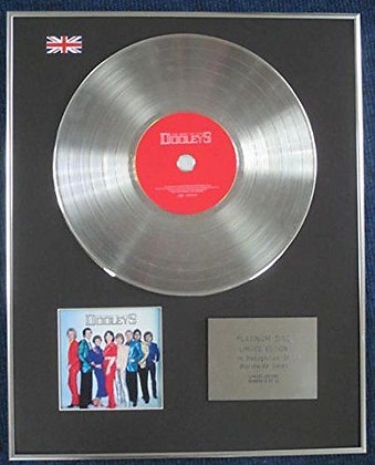 DOOLEYS - Limited Edition CD Platinum LP Disc
