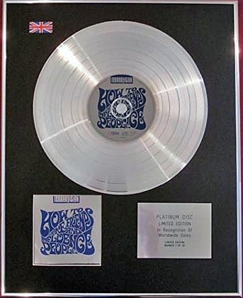 TERRORVISION - CD Platinum Disc - HOW TO MAKE FRIENDS...