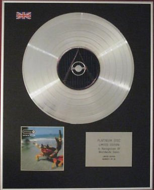 PRODIGY- CD Platinum Disc -THE FAT OF THE LAND