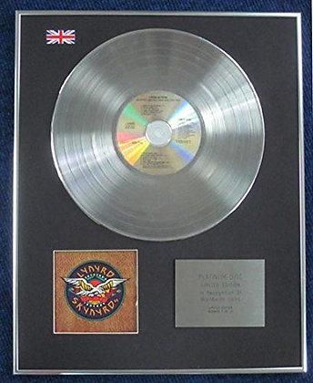 Lynyrd Skynyrd - Limited Edition CD Platinum LP Disc