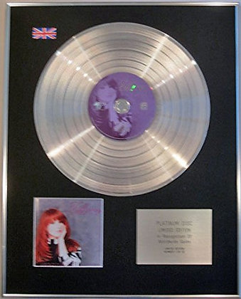 TIFFANY - Limited Edition CD Platinum Disc - THE BEST OF