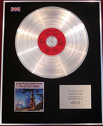 ANDERSON BRUFORD WAKEMAN HOWE - CD Platinum Disc