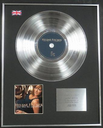 Helene Fischer- Limited Edition CD Platinum LP Disc - Von hier bis unendlich
