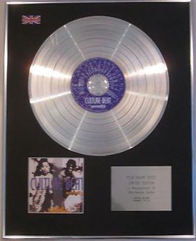 CULTURE BEAT -  CD Platinum Disc - SERENITY