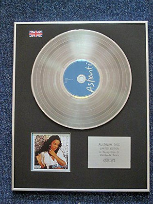 Ashanti - Limited Edition CD Platinum LP Disc - Baby