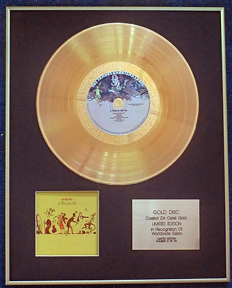 Genesis - Exclusive Limited Edition 24 Carat Gold Disc - A Trick of the Tail