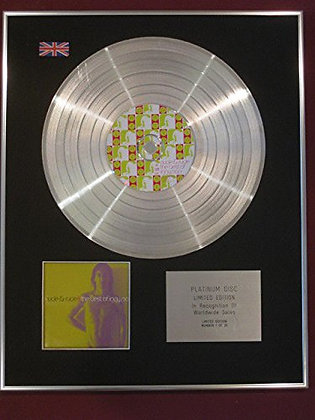 IGGY POP - CD Platinum Disc - THE BEST OF IGGY POP