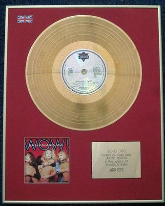 BANANARAMA - Limited Edition CD 24 Carat Gold Coated LP Disc - WOW