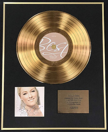 Helene Fischer - Exclusive Limited Edition 24 Carat Gold Disc - Best Of